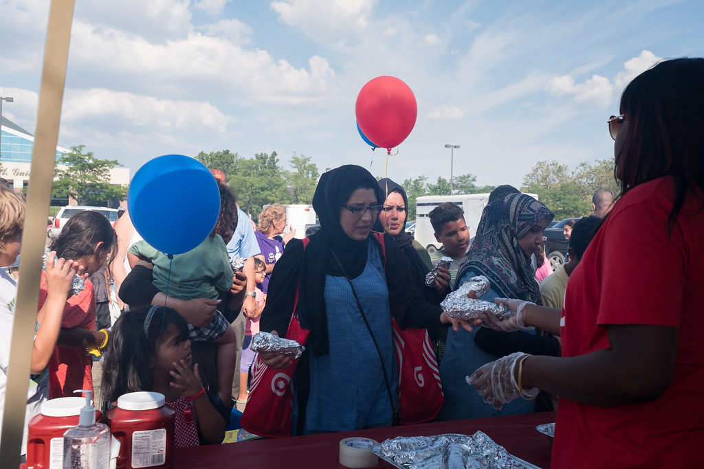 ". The Dearborn Police Department held its annual National Night Out on crime event on Tuesday, August 1, 2017 at the Dearborn Police Department. This free event was sponsored by Target stores located in Dearborn and the Dearborn Police Department. The Dearborn event is held in conjunction with National Night Out, sponsored by the National Association of Town Watch, a neighborhood crime and drug prevention event that occurs annually on the first Tuesday in August.  In addition to increasing awareness of crime prevention programs, National Night Out also strengthens neighborhood spirit and community-police partnerships, while sending a message to criminals that ""neighborhoods are organized, working with police and are fighting back against crime!�  Photo by Debbie Malyn for the Press & Guide."