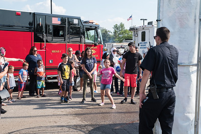 "The Dearborn Police Department held its annual National Night Out on crime event on Tuesday, August 1, 2017 at the Dearborn Police Department. This free event was sponsored by Target stores located in Dearborn and the Dearborn Police Department. The Dearborn event is held in conjunction with National Night Out, sponsored by the National Association of Town Watch, a neighborhood crime and drug prevention event that occurs annually on the first Tuesday in August.  In addition to increasing awareness of crime prevention programs, National Night Out also strengthens neighborhood spirit and community-police partnerships, while sending a message to criminals that ""neighborhoods are organized, working with police and are fighting back against crime!""  Photo by Debbie Malyn for the Press & Guide."