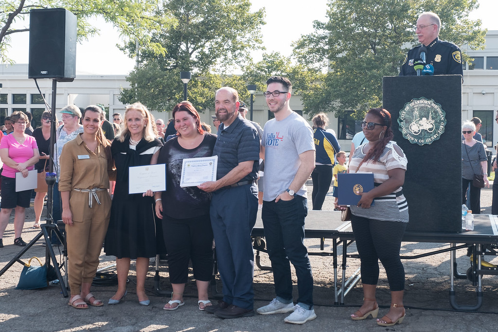 . Citizens received awards for Outstanding Contributions to the Community. Photo by Debbie Malyn for the Press & Guide.