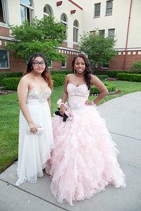 Ashley Apostol and Ahmian Weaver dressed to impress at Robichaud's 2016 prom. Robichaud High School held their 2016 prom at the Detroit Yacht Club on Belle Isle Friday, May 27. Photos by Matt Thompson, Copyright 2016 Press & Guide