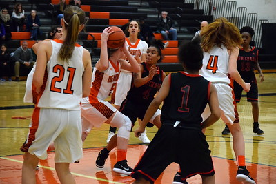 Dearborn High welcomed in Robichaud on Tuesday night and defeated the Bulldogs by a a score of 49-7. Photo by Alex Muller - For the Press & Guide