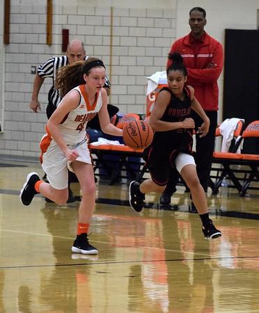 Robichaud vs. Dearborn Girls' Basketball