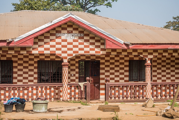 Sabina Mponge's Sweat. Nyasoso, Southwest Region, Cameroon Africa