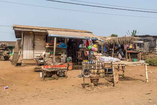Store. Nyasoso, Southwest Region, Cameroon Africa