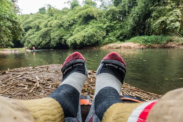 Darn Tough socks, Edib to Baseng hike, Southwest Region, Cameroon Africa