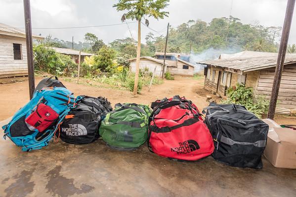 Luggage. Nyasoso, Southwest Region, Cameroon Africa