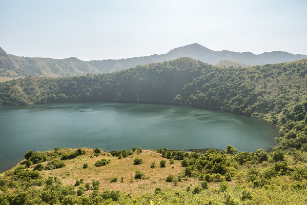 female lake, Mount Manengouba, Littoral Region, Cameroon Africa