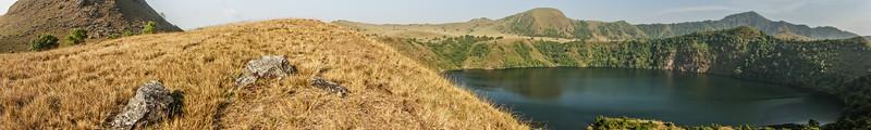female lake, Mount Manengouba, Littoral Region, Cameroon Africa