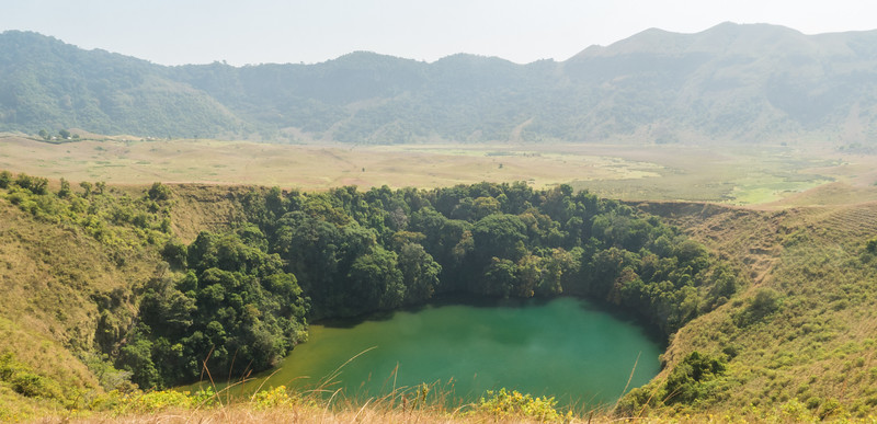 male lake, Mount Manengouba, Littoral Region, Cameroon Africa