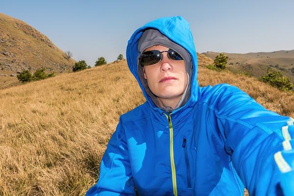 Margy selfie. Mount Manengouba, Littoral Region, Cameroon Africa