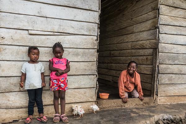 Girls. Nyasoso, Southwest Region, Cameroon Africa
