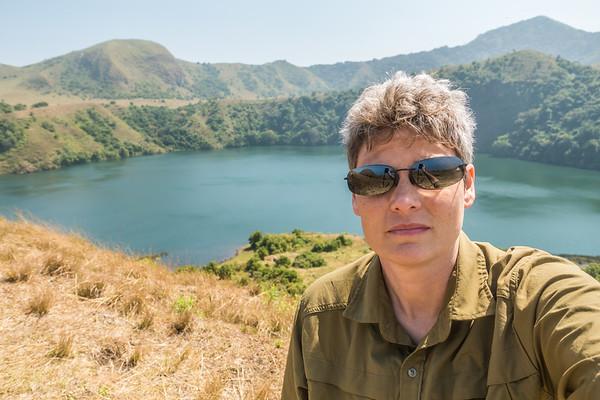 Margy selfie at Mount Manengouba, Littoral Region, Cameroon Africa