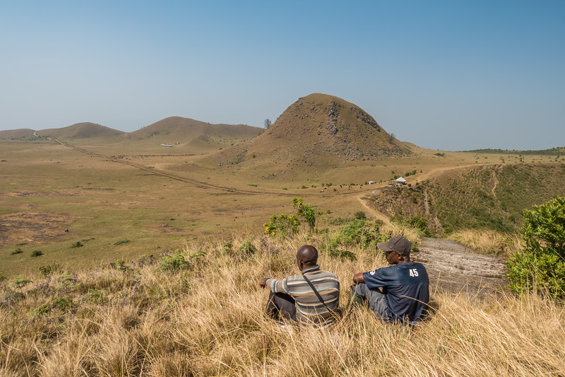 Salabro and Solo at Mount Manengouba, Littoral Region, Cameroon Africa