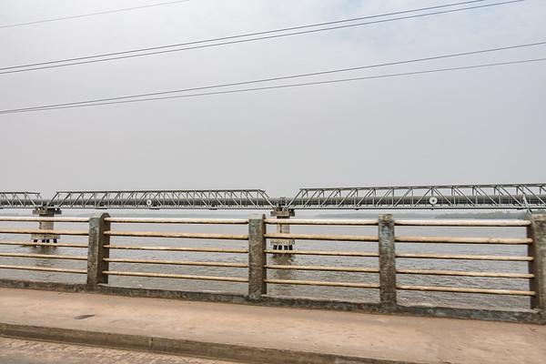 Water pipeline. Bonaberi, Littoral Region, Cameroon Africa