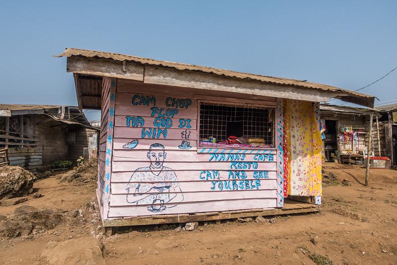 Nana's Cafe Resto. Nyasoso, Southwest Region, Cameroon Africa