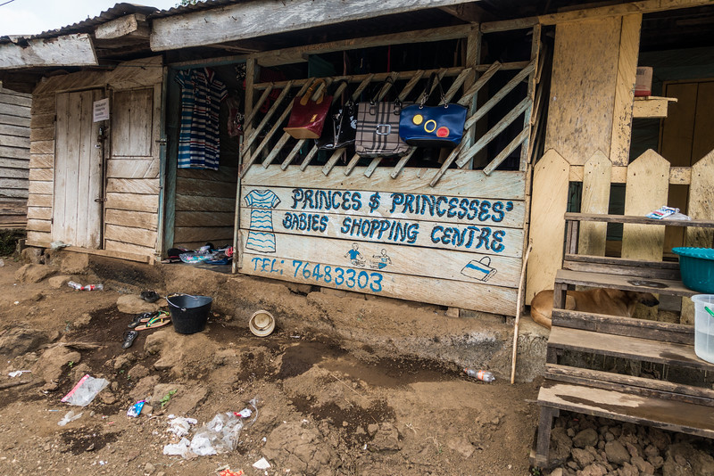 Prices & princeses babies shopping center. Nyasoso, Southwest Region, Cameroon Africa