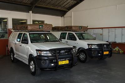Toyota Hilux 4x4 rented trucks. Windhoek, Khomas Namibia