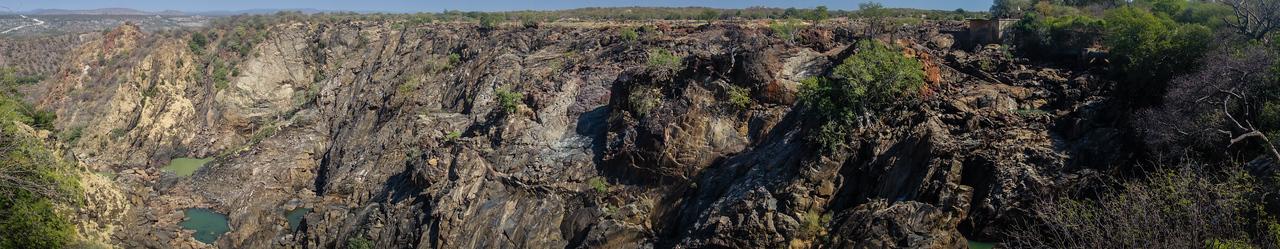 Ruacana Falls. Ruacana, Omusati Namibia