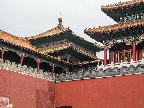 Forbidden City. Beijing China
