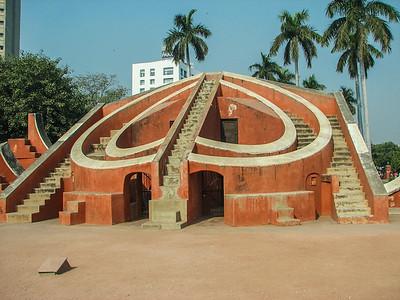 Missa Yantra. Jantar Mantar Ancient Observatory. Delhi India