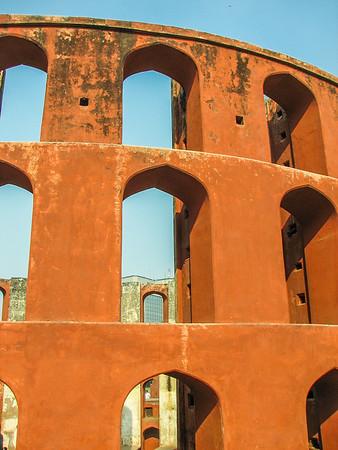 Ram Yantra. Jantar Mantar Ancient Observatory. Delhi India