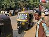 auto rickshaw. Guwahati, Assam India