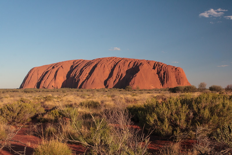 Ayer's Rock (Uluru) sunset