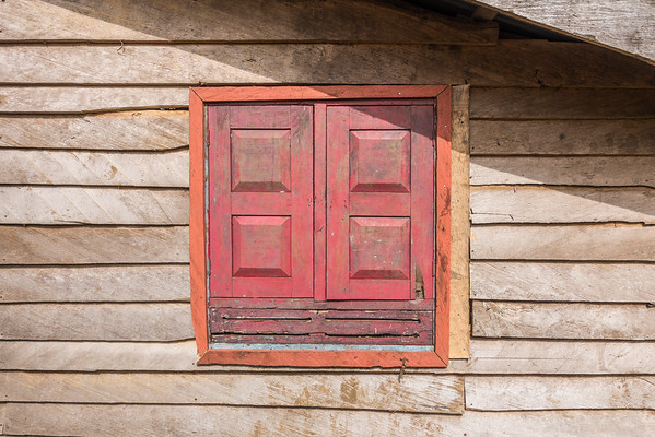 Window shutters Nyasoso, Southwest Region, Cameroon Africa