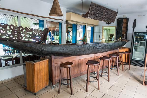 Bar at Foyer du Marin, Douala, Littoral Region Cameroon Africa