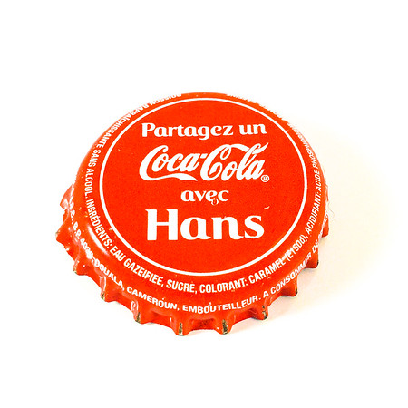 Partagez un coca-cola avec Hans, from a coke I had in Nyasoso, Cameroon will on a trip with my dude Hans-Werner Herrmann. Coke was bottle in Douala, Cameroon Africa.