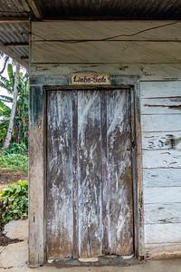 """""""Limbo Gate"""" door. Nyasoso, Southwest Region, Cameroon Africa"""