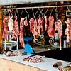 meat shop. Tena, Napo Ecuador