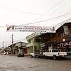 """Mindo bird count sign, """"Silence Please We are Counting Birds"""". Mindo, Pichincha Ecuador"""