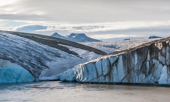 Nigribreen, Spitsbergen, Svalbard Norway