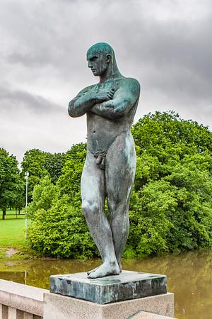 Gustav Vigland Park. Oslo Norway