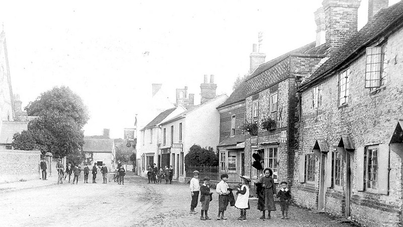 <font size=3><u> - High Street - 1890's or early 20th century - </u></font> (BS0078)