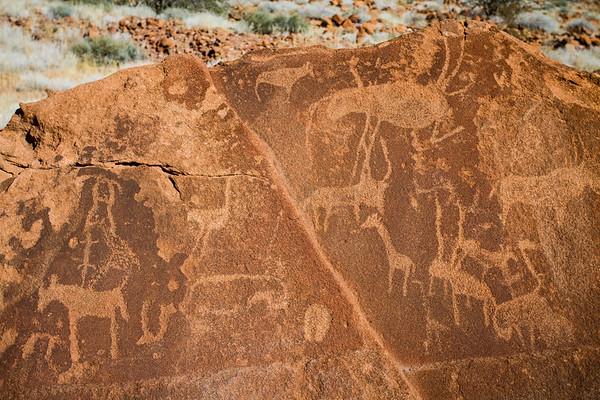 Twyfelfontein, Kunene Namibia