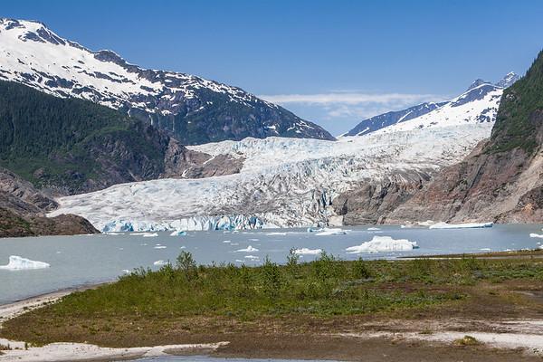 Mendenhall Glacier Alaska USA