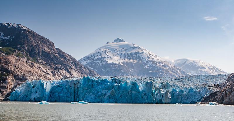 Dawe's Glacier, Endicott Arm Alaska USA