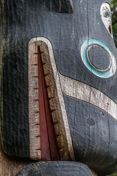 Sitka National Historic Park. Sitka Alaska USA