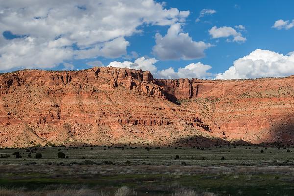 Vermillion Cliffs California Condor viewing area, Vermillion Cliffs National Monument, Arizona