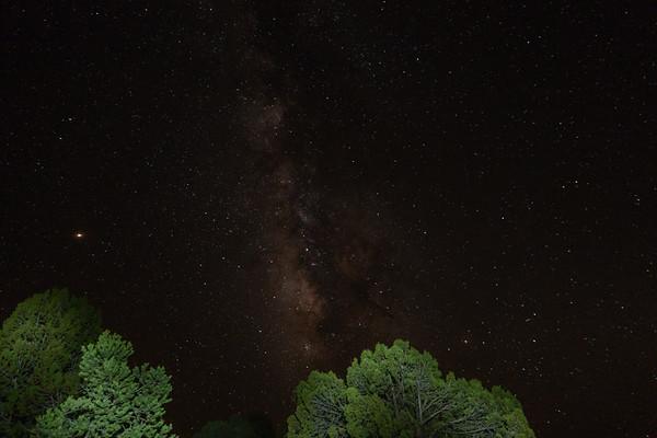 milkyway & night sky, Vermilion Cliff National Monument, Coconino Co. Arizona USA