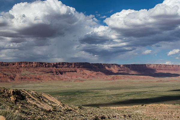 Vermillion Cliffs view from scenic view on 89A, Arizona