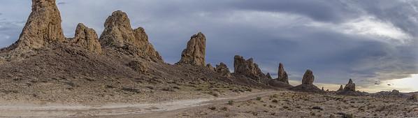 Trona Pinnacles, San Bernadino Co. California USA