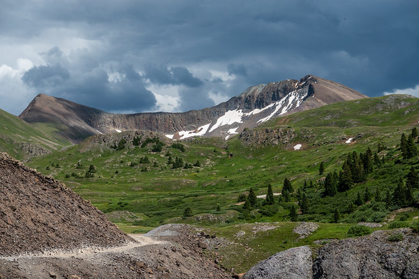 Engineer Pass - Ouray Side, Lake City to Ouray, Colorado USA