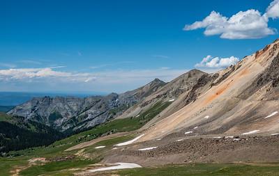 Engineer Pass, Lake City to Ouray, Colorado USA