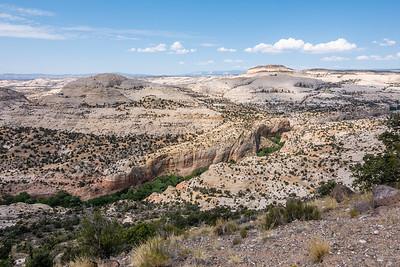 Calf Creek viewpoint, Garfield County Utah