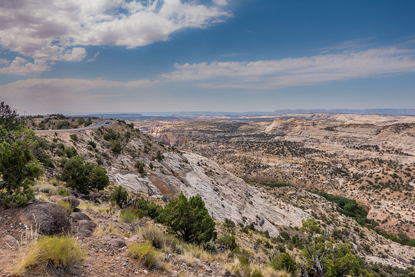 Calf Creek viewpoint, Garfield County Utah