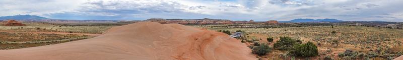 Wind Whistle Rock, Utah USA