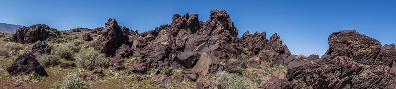 Fossil Falls, Inyo Co. California USA
